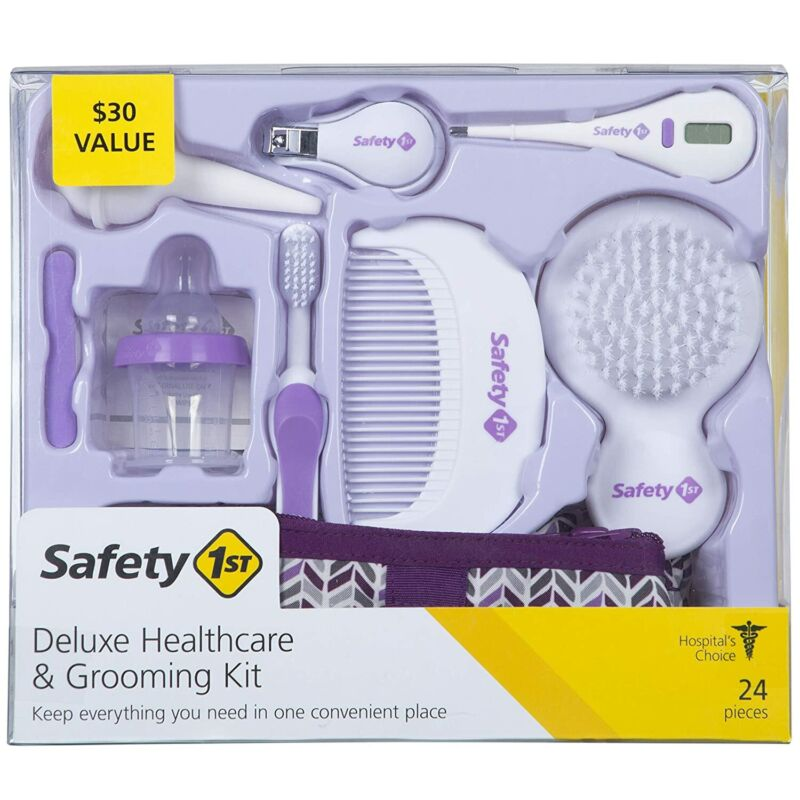 Safety 1st Deluxe Healthcare & Grooming Kit, Pyramids Grape Juice
