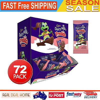 72x Cadbury Freddo Strawberry Chocolate Frogs Kids Party School Birthday Treats