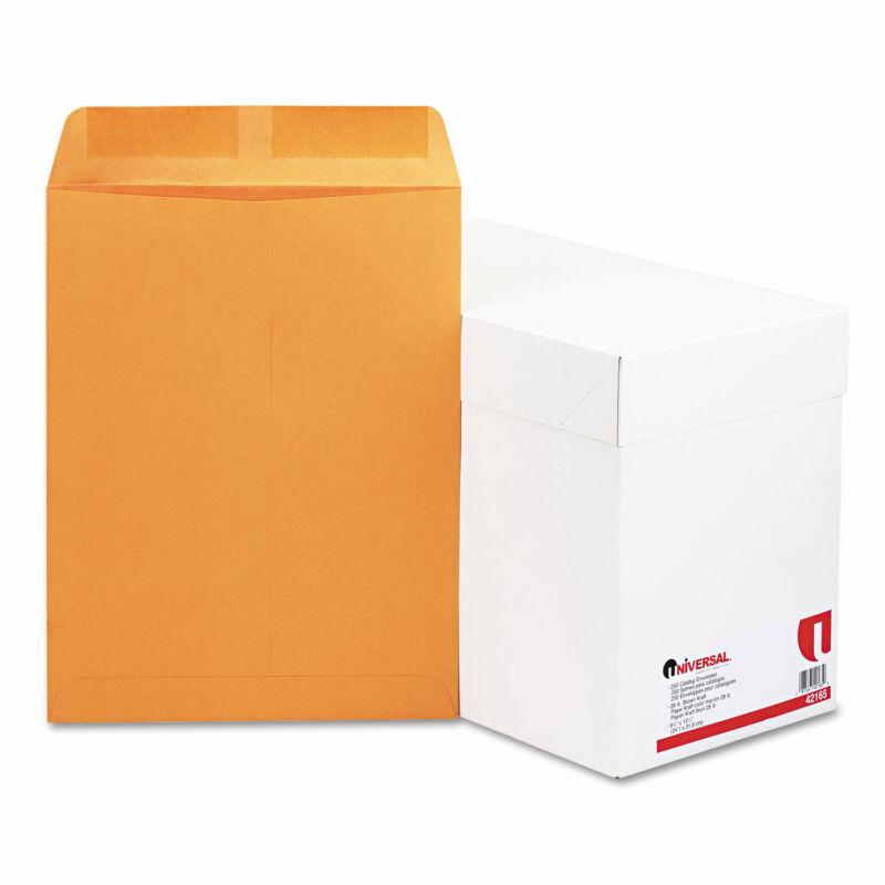UNIVERSAL Catalog Envelope 9 1/2 x 12 1/2 Brown Kraft 250/Box 42165
