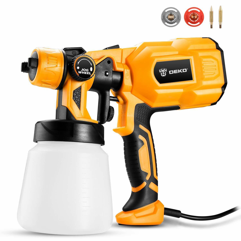 DEKO Spray Gun 550W 110V High Power Home Electric Paint Sprayer