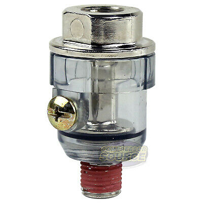 Inline 14 Air Compressor Tool Mini Oiler Lubricator In Line Oil Lubrication
