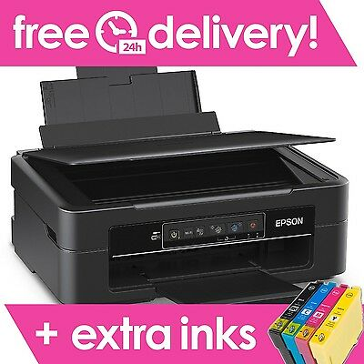 Epson Expression Home XP-245 All-in-One Wireless Inkjet Printer + EXTRA Set Inks