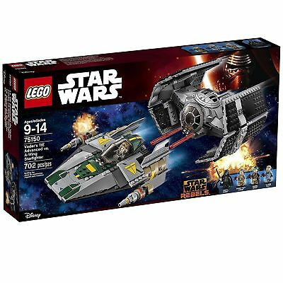 LEGO Star Wars Vader's TIE Advanced vs. A-Wing Starfighter 75150 New and Sealed
