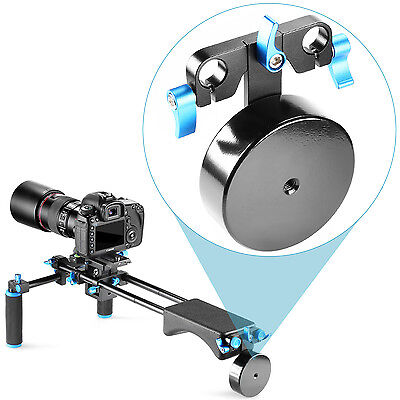 Neewer Aluminium Alloy Counter Weight f Shoulder Rig Mount Stabilizer 15mm Rods