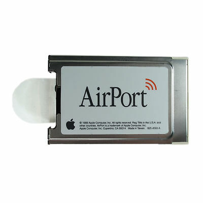 WiFi Card 802.11b G3 G4 Mac iMac iBook Cube desktop Apple Airport Wireless Card