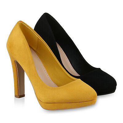 Damen Klassische Pumps Stiletto High Heels Party Absatzschuhe 831239 Schuhe