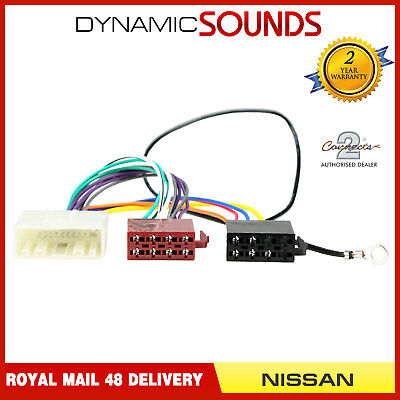 PC2-91-4 Car Radio Stereo ISO Wiring Harness Adaptor Loom Lead for Nissan
