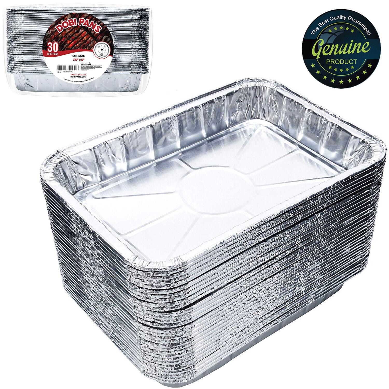 Aluminum Foil BBQ Grease Pans Weber Grills Compatible Drip P