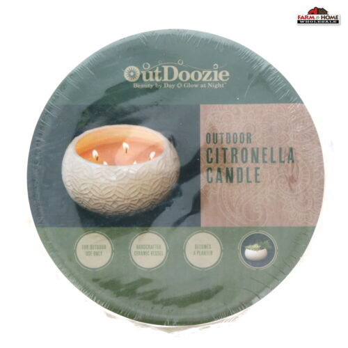 Outdoor Citronella Candle Large ~ New