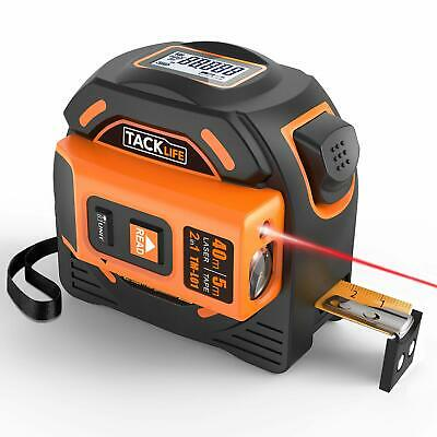 Laser Tape Measure 2-in-1 Laser Measure 131 Ft Tape Measure 16 Ft Metric And I