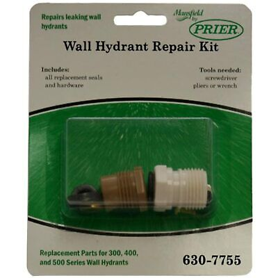 NEW! Prier For Mansfield Wall Hydrant Repair Kit 630-7755