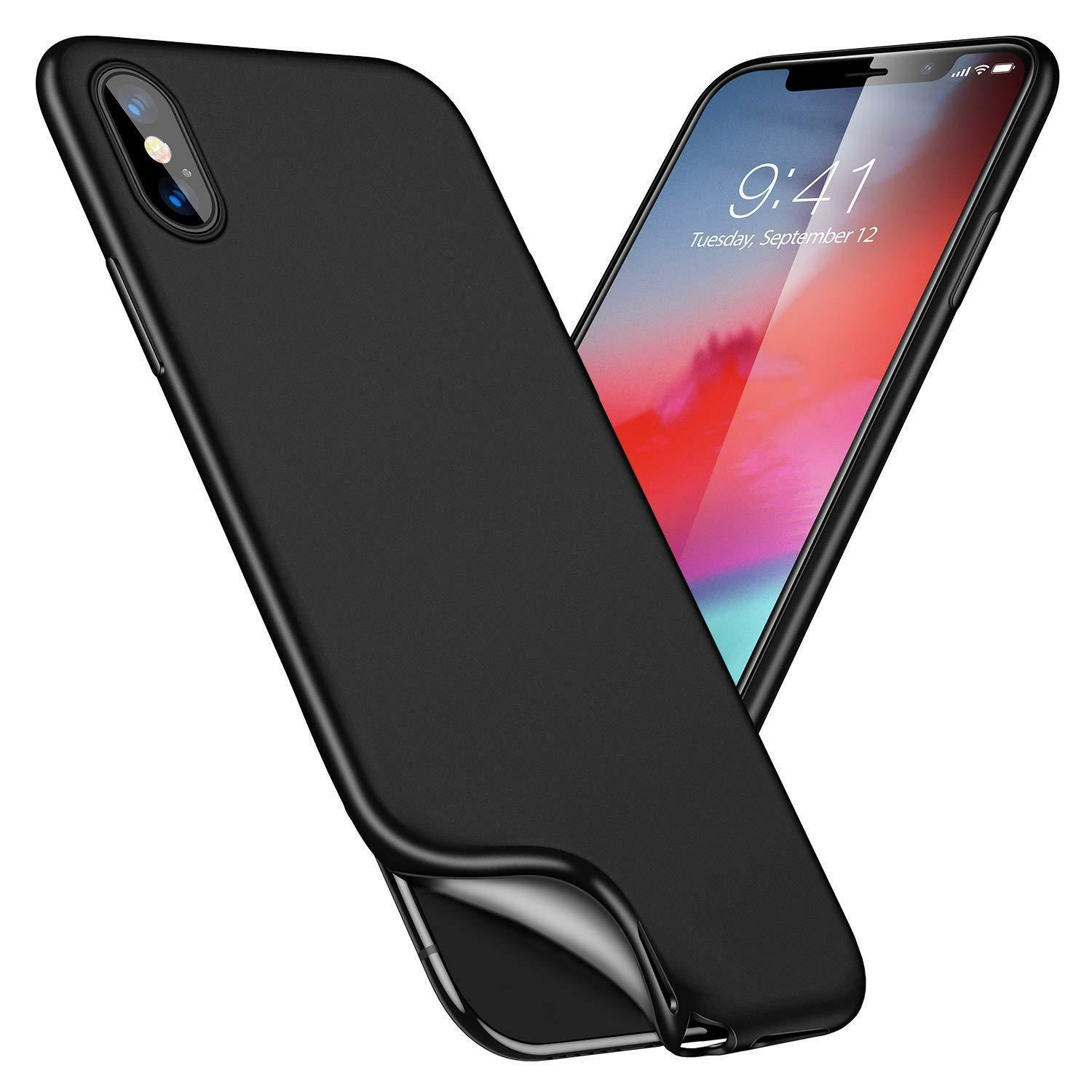 For iPhone XS Max XR X 8 7 6 6s Plus Shockproof TPU Rugged w