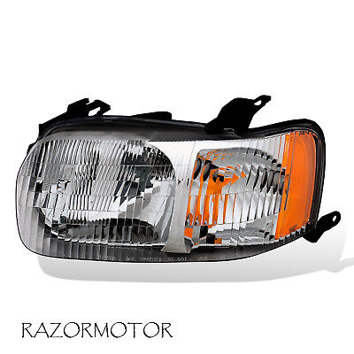 2001-2004 Replacement Driver Side Headlight Lamp For Ford Escape W/ (2004 Ford Escape Replacement)
