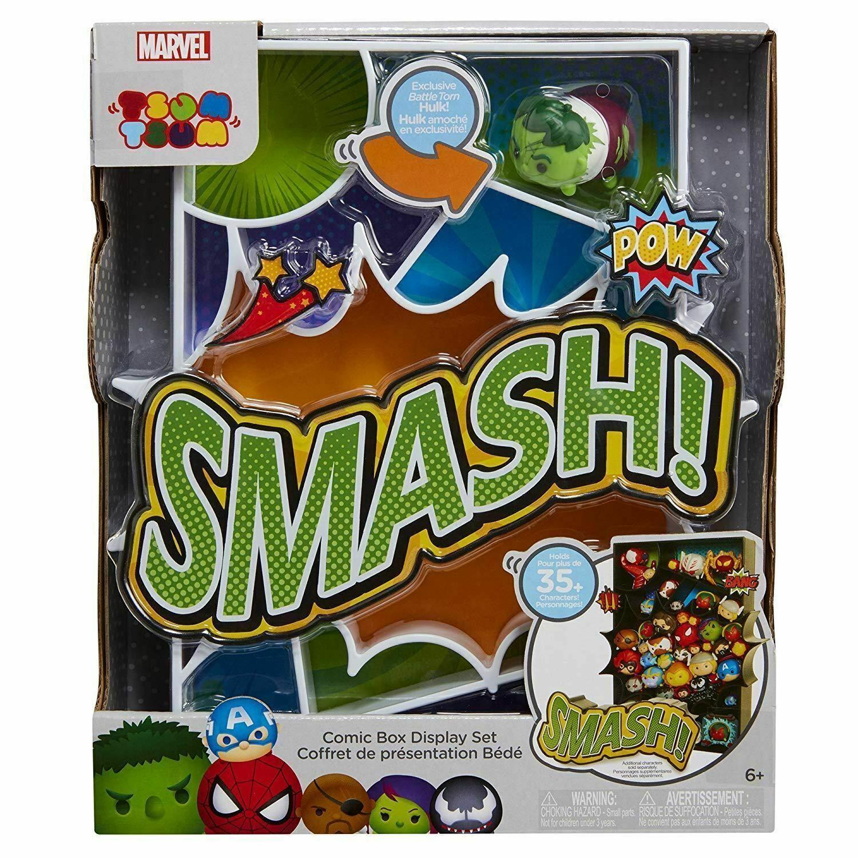 Marvel Tsum Tsum Comic Box Display Toy Figure