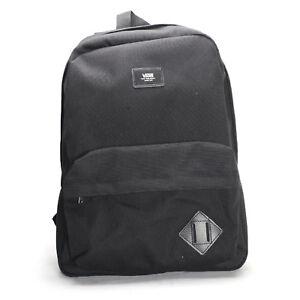 fb0d8862aeb VANS Old Skool II Backpack - Plain Black School Bag V000oniblk With ...