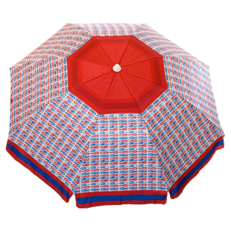 Nautica 7 Foot Tilting Beach Umbrella