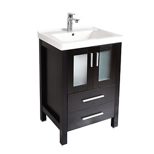 Bathroom Vanity 24Modern Bathroom Cabinet  Vanities   eBay. Vanity And Sink Combo. Home Design Ideas