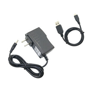 AC/DC Power Adapter Wall Charger +USB Cord for Arnova 10-G2 501954 501904 Tablet