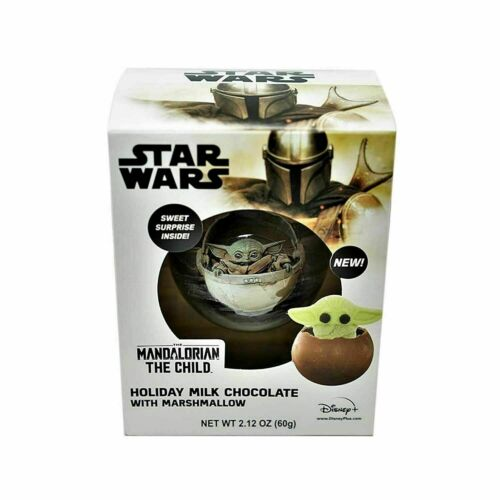 Star Wars The Mandalorian Holiday Chocolate Ball w/Surprise The Child