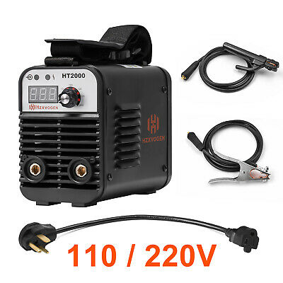 Protable Arc Welder Inverter Dual Volt 110220v Mma Stick Arc Welding Machine
