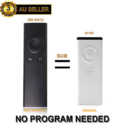 New Replacement Universal Infrared Remote fit For Apple TV1 / TV2 / TV3 (A1156)