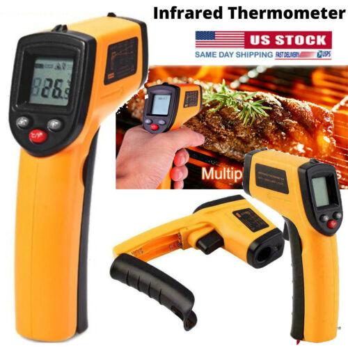 Digital Thermometer Infrared Handheld Temperature Gun Non-Contact IR Laser USA