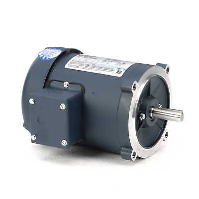 Leeson Electric Motor 101767.00 1/4 HP 1725 Rpm 3PH 208-230/460 Volt S56C Frame