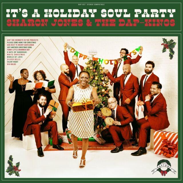 SHARON JONES & THE DAP KINGS - IT'S A HOLIDAY SOUL PARTY!  CD NEU