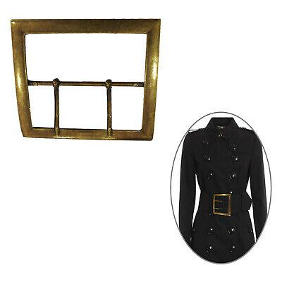 82mm Rechteck Gürtel Schnalle Doppel für Kostüm Jacken Große Tasche Mantel