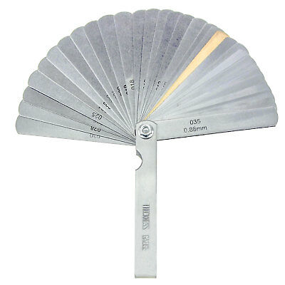 Hfsr 32 Piece Blade Master Feeler Gauge Measuring Tool