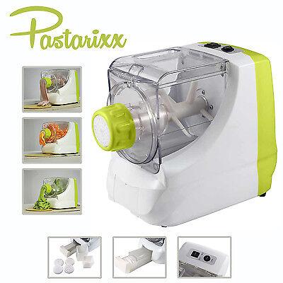 Pastarixx elektrische Nudelmaschine Pastamaker Nudelautomat Spaghetti Makkaroni