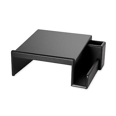 Rolodex Wood Tones Collection Phone Stand Black 62538