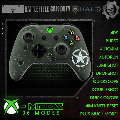 XBOX ONE RAPID FIRE CONTROLLER -US Army-BEST ON EBAY! Custom All CoD Style