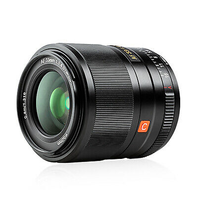VILTROX 33mm F1.4 XF Auto Focus APS-C Lens for Fuji X-mount Mirrorless Camera