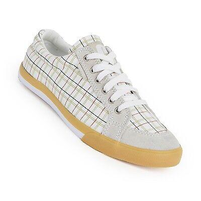 Iv-weiß Schuhe (Pointer Damen Schuhe Canvas Sneaker Seeker IV weiß rose print Gr. 36 + 37)