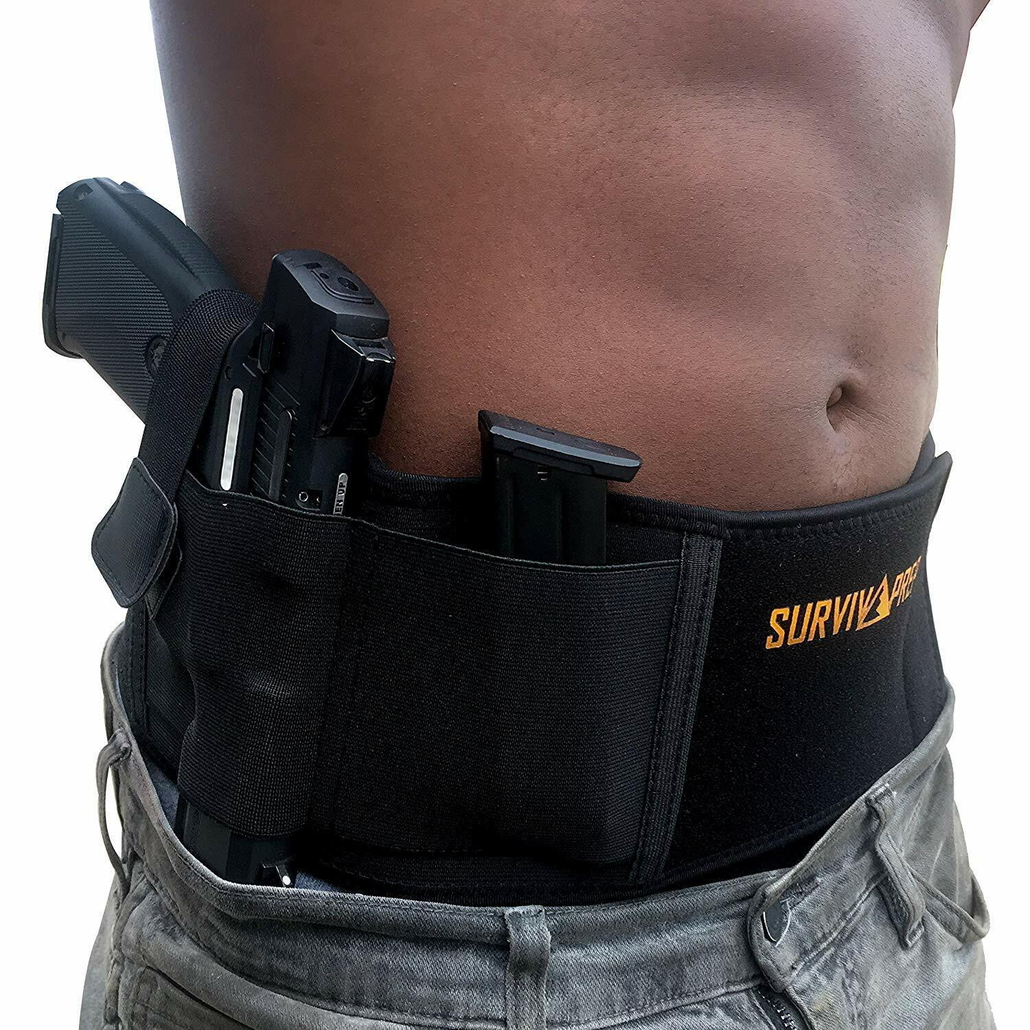 Belly Band Holster | Concealed Carry Holsters for Women Men Tactical Gun IWB OWB