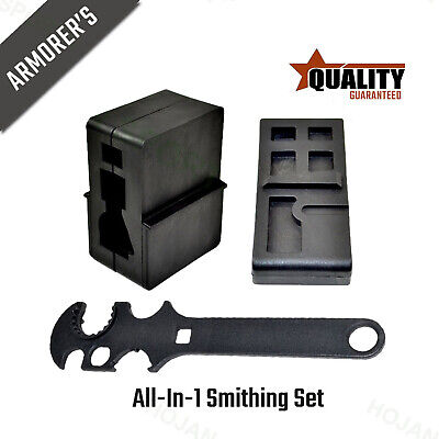 USA Seller All-in-1 Sturdy 15-556 Upper & Lower Vise Bench Block Wrench Tool Set