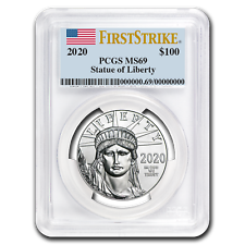 2020 1 oz Platinum American Eagle MS-69 PCGS (FirstStrike®) - SKU #207616