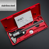 "Digital Caliper Stainless Steel Electronic LCD Micrometer Measuring 0-6""/150mm"
