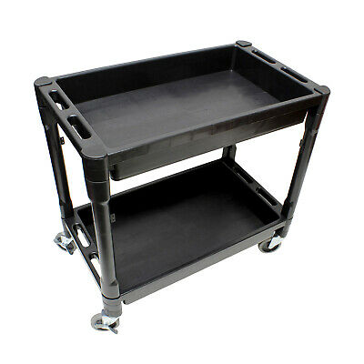 Bisupply Rolling Cart With Shelves Rolling Tool Cart Service Cart Plastic