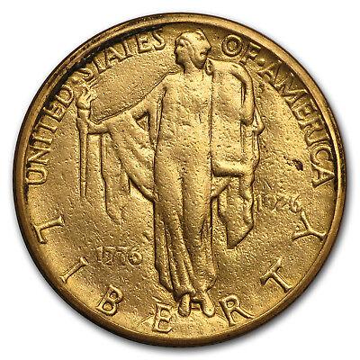 1926 Gold $2.50 America Sesquicentennial VF - SKU#118381