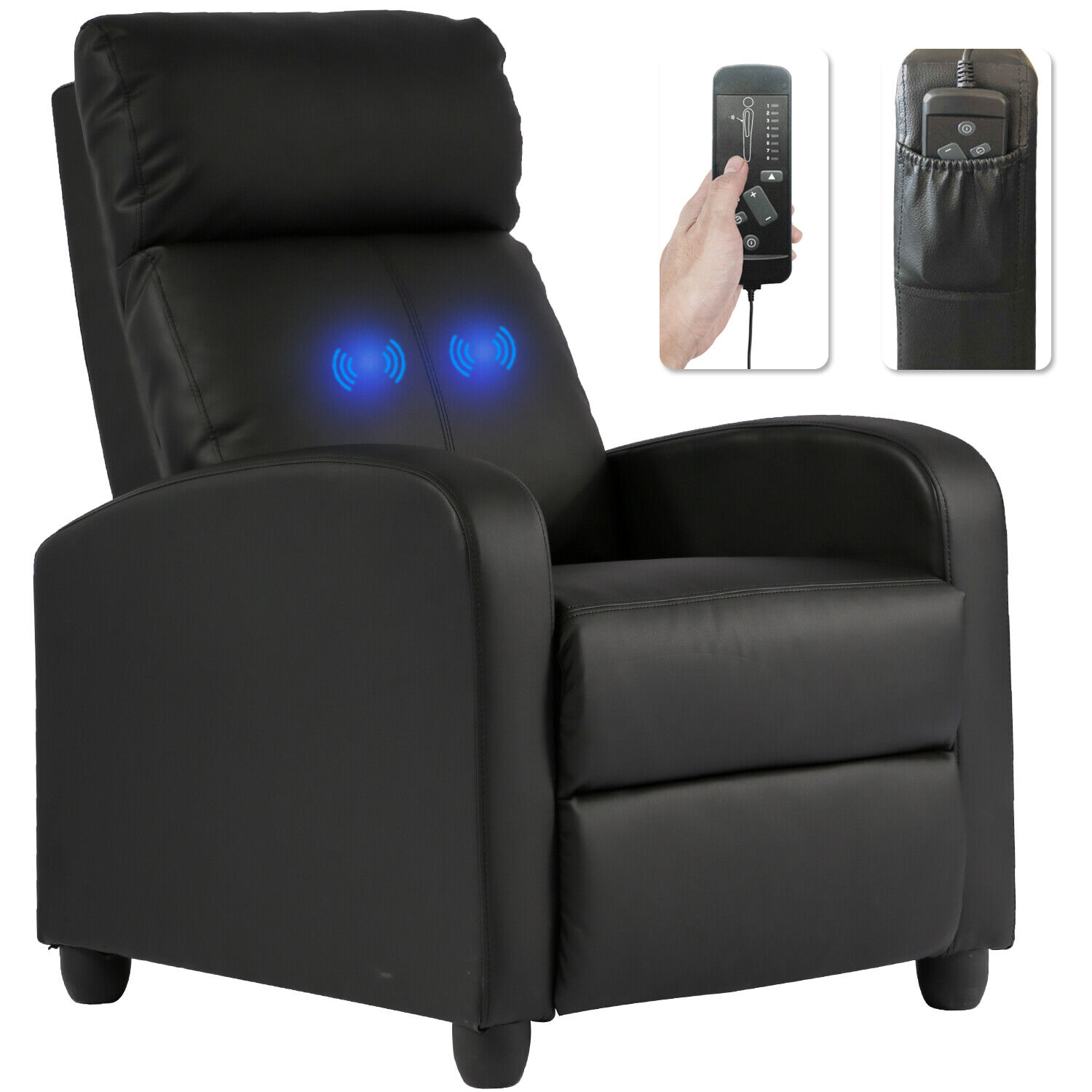 Electric Shiatsu Zero Gravity Full Body Massage Chair Recliner with Built-In Electric Massage Chairs