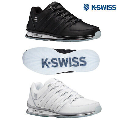 K-Swiss Mens Rinzler SPSB Trainers Casual Leather Lace Up Low Top Sneakers Shoes