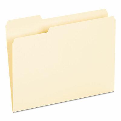Universal Recycled Interior File Folders 13 Cut Top Tab Letter Manila 100box