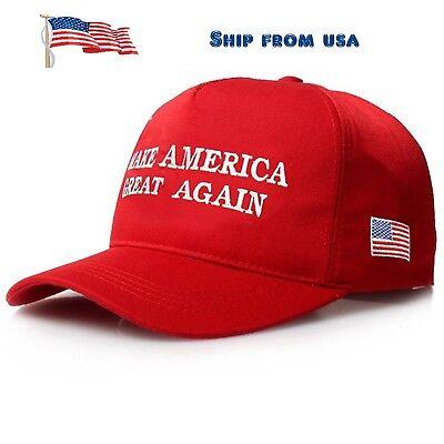 President Donald Trump Make America Great Again Hat US Republican Adjustable Cap