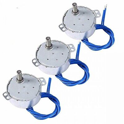 3pcs Electric Synchron Motor Turntable Synchronous Motor Cup Turner Cuptisserie