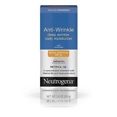 Neutrogena, Ageless Intensives Deep Wrinkle Moisture, SPF 20