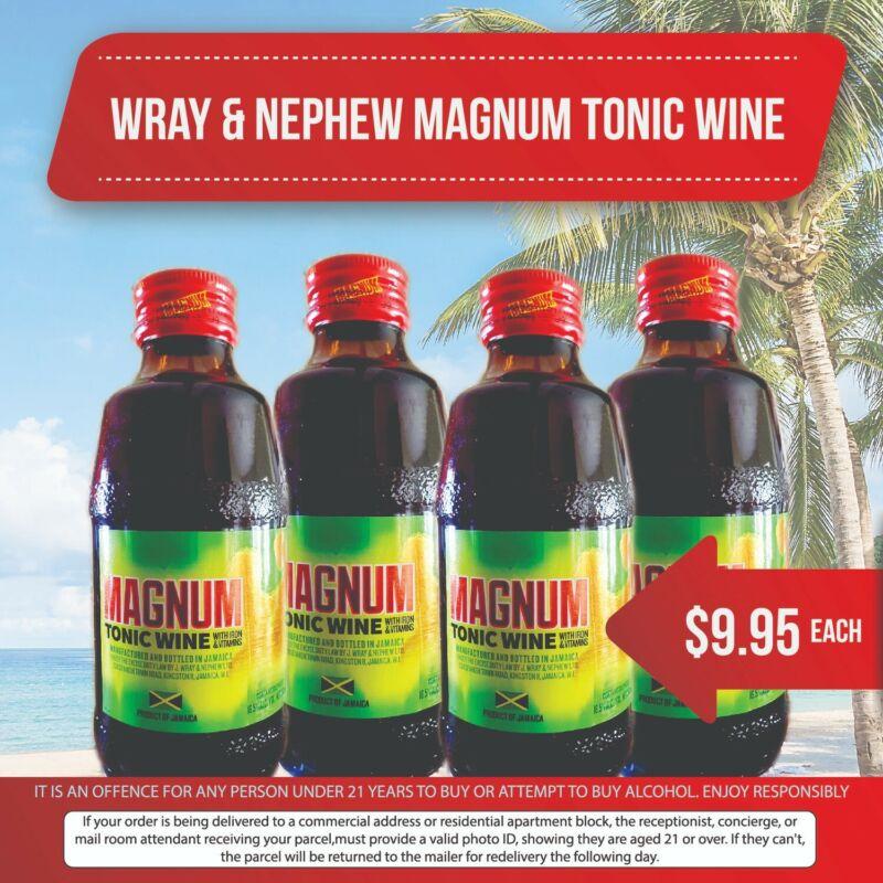 Magnum Tonic Wine-$9.95 Per Bottle (Buy 3 Bottle get it for $27) Plus Shipping