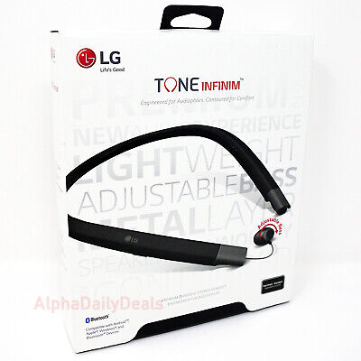 LG Tone Infinim HBS-920 Bluetooth Wireless Stereo Headset Black Premium