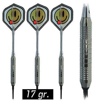 9 KARELLA Soft Dart EDart Darts Softdarts Dartsatz Dartpfeile 17 gr. 8010.02
